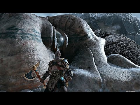 God Of War 4 - Kratos Vs Thor Brother Final Boss Fight + SECRET Ending  PS4 2018