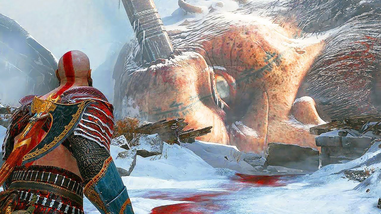 God Of War 4 Kratos Vs Thor Brother Final Boss Fight Secret Ending Ps4 2018