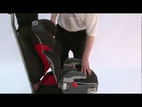 Обзор и установка автокресла Graco Junior Maxi