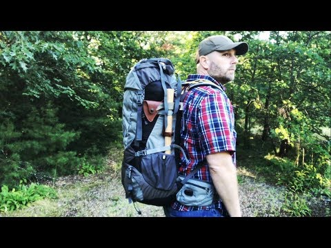 Battery & Solar Power Backpack: Ghostek NRG Camper: 60L Pack, Power for When You Are Off Grid