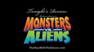 Monsters Vs Aliens - Bum Reviews