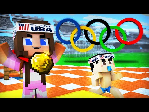 Minecraft - WHO'S YOUR MOMMY? - BABY OLYMPICS!