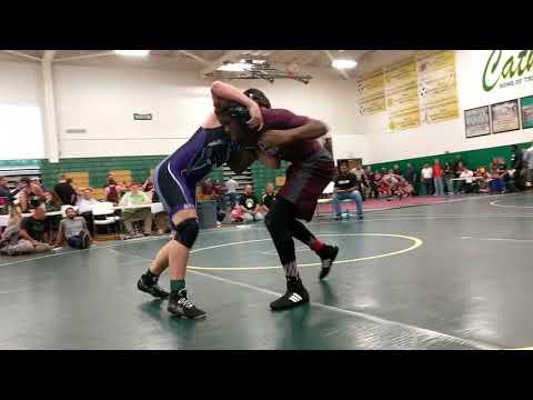 Elijah Davis Wrestling-170 VS. Sevier County-170 Catholic Invitationals 2017