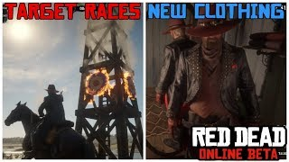 New Target Races, Clothing and Discounts in the Red Dead Online Beta