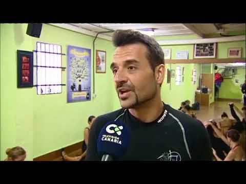 Homenaje a Trini Borrull Javier del Real y su Ballet, informativos de la televisión Canaria
