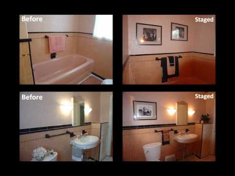 home staging tips dated bathrooms