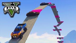 GTA V Online: O melhor DESAFIO 4X4 no GTA!!(GTA V Online - O melhor DESAFIO 4X4 no GTA!! • DLC MANOBRAS E CRÂNIOS RACHADOS (Cunning Stunts) • Canal do Auguxto: http://bit.ly/AuguxtoGamer ..., 2016-09-09T15:00:01.000Z)