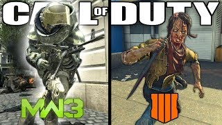 The Evolution of Infected (Infected in Every Call of Duty)