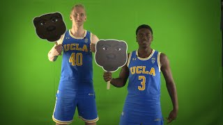Pac-12 Men's Basketball Media Day: UCLA's Thomas Welsh & Aaron Holiday showcase their best...