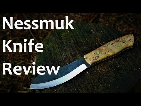 Bushcraft Equipment: Brisa Nessmuk 125 Knife Review | Nessmuk Knife | Knife Review | Woodsman