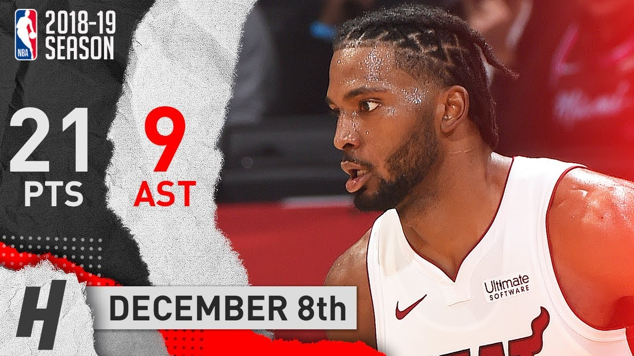 justise-winslow-full-highlights-heat-vs-clippers-2018-12-08-21-pts-9-assists