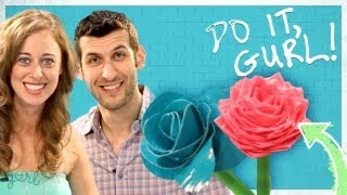 Duct Tape Flower Pen (And VidCon Prize Pack Sweepstakes!) - Do It, Gurl