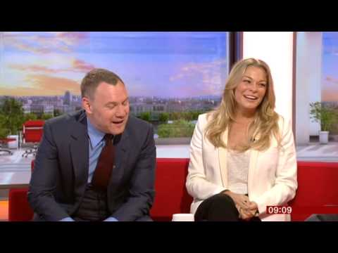 David Gray LeAnn Rimes BBC Breakfast 2015
