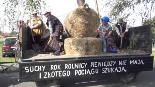 Dożynki 2015 Gmina Ujazd, Powiat Strzelecki, Woj. Opolskie