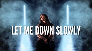 Kaycee Rice  l  Let Me Down Slowly - Dance Choreography by Erica Klein