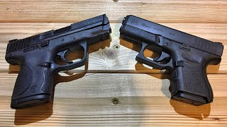 Glock 26 vs Smith and Wesson 9C - Battle of the subcompacts!