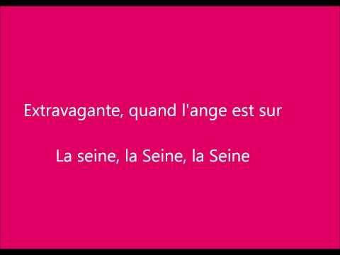 La Seine - Vanessa Paradis (Lyrics)