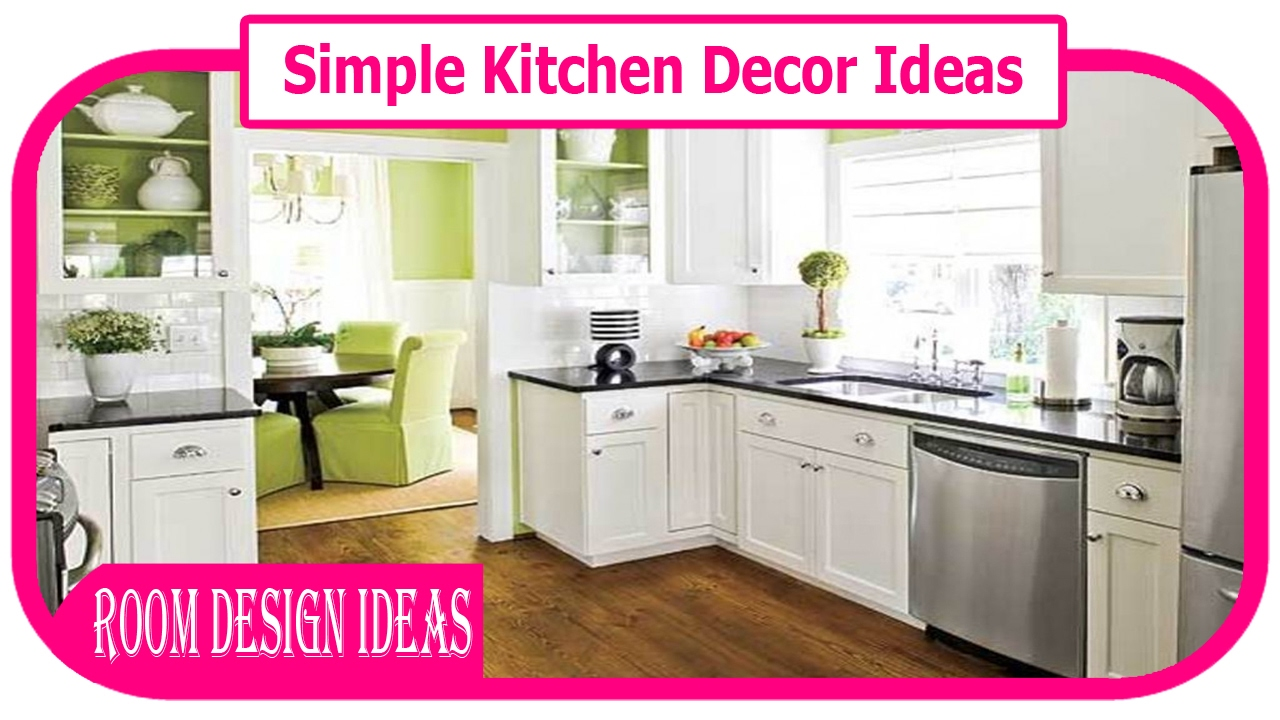 Simple kitchen decor ideas diy easy kitchen decor ideas diy kitchen decoration ideas youtube Kitchen design diy ideas