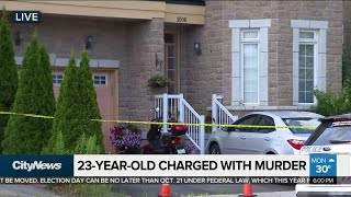 Markham man charged with murder of 4 family members