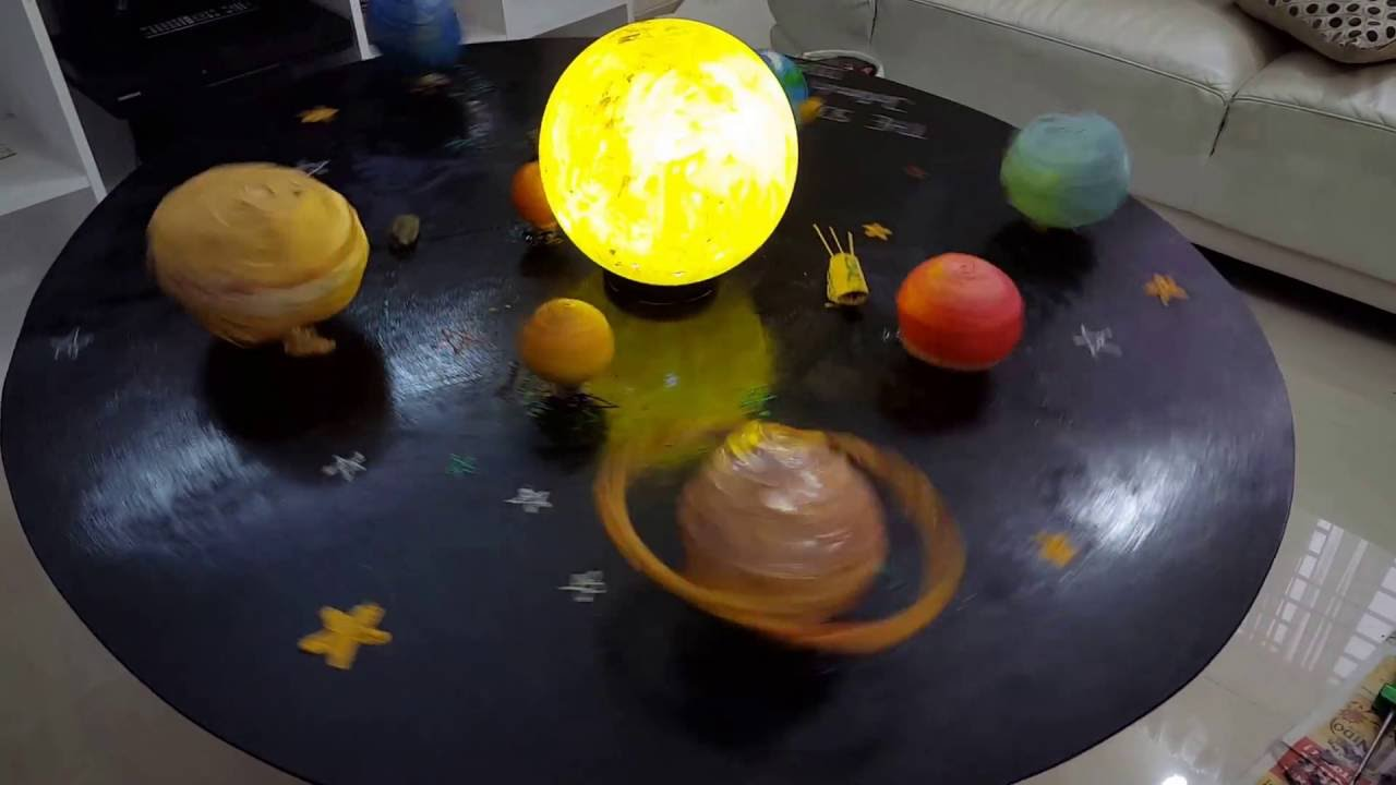 school science project solar system - photo #25