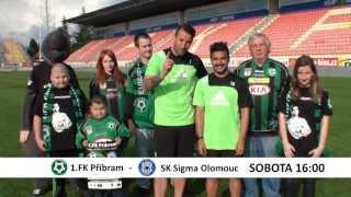 Pozvánka na utkání 1.FK Příbram - SK Sigma Olomouc