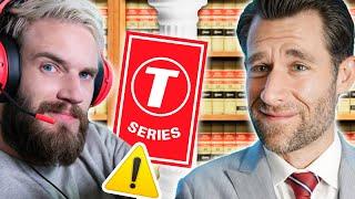 T-Series v. PewDiePie - 100 Million Subs & A Defamation Lawsuit (Real Law Review) // LegalEagle