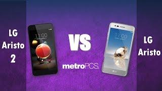 LG Aristo 2   VS LG Aristo -  metroPCS