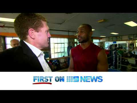 9 News interviews Boxing Legend Roy Jones Junior