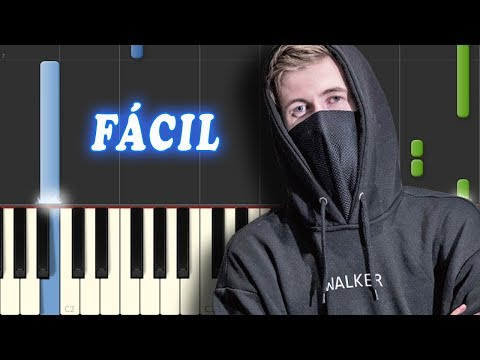 Faded - Alan Walker - FACIL - Piano Tutorial