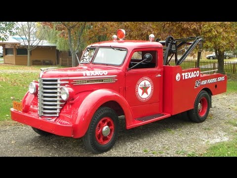 1948 diamond t 201 wrecker tow truck for sale at youtube. Black Bedroom Furniture Sets. Home Design Ideas