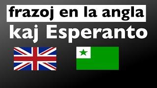 200 frazoj en la angla kaj Esperanto