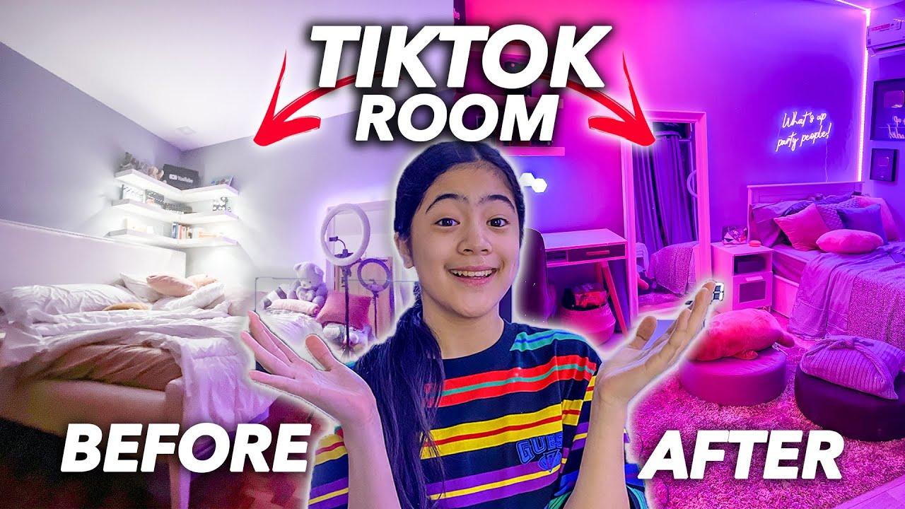 Transforming My Room To A Tiktok Room Makeover Ranz And Niana Youtube