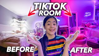 TRANSFORMING My Room To A TikTok Room! (Makeover!) | Ranz and niana