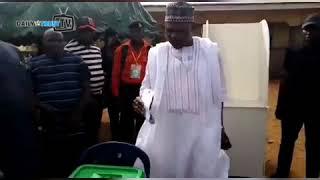 Kogi Decides : PDP Governorship candidate, Musa Wada, votes in Dekina LGA after initial hitch