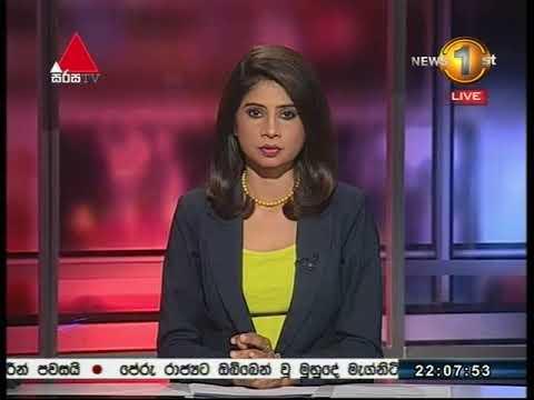 News 1st: Prime Time Sinhala News - 10 PM | (14-01-2018)