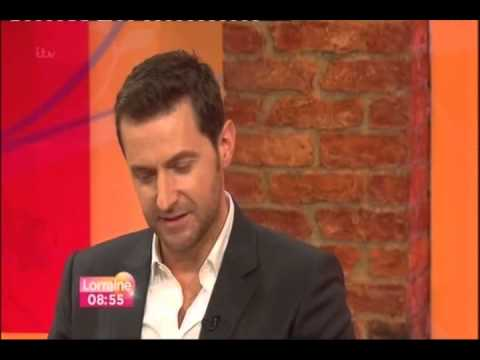 Richard Armitage on ITV show Lorraine 07.03.2013