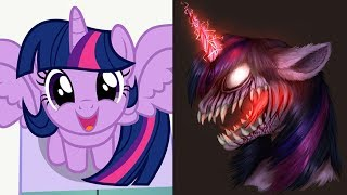 My Little Pony As Zombies Monsters  All Characters 2017