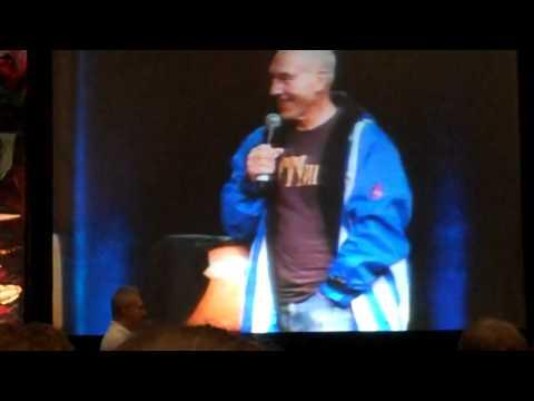 Star Trek Vegas Con '10 - Brent Spiner sneaks in