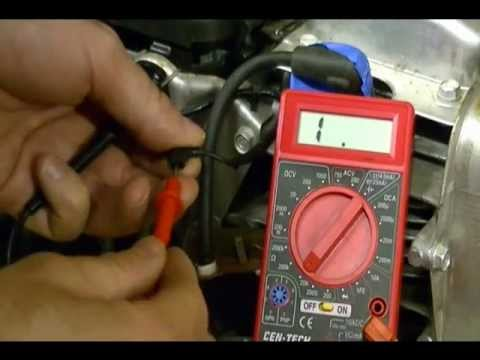 Small Engine Repair How to test the Ignition Switch or Kill Switch