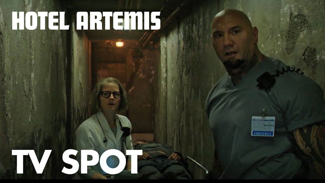 "Hotel Artemis | ""Price"" TV Spot | Global Road Entertainment Entertainment"