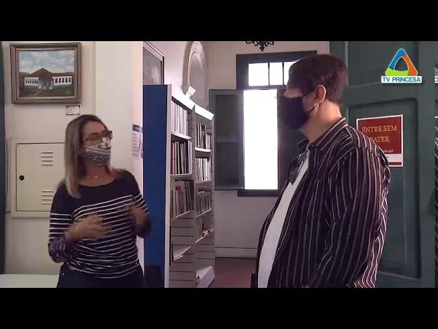 Reabertura da Biblioteca Pública e Museu Municipal - TV Princesa