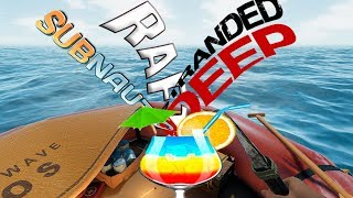 ЧТО ЕСЛИ СМЕШАТЬ RAFT, SUBNAUTICA и STRANDED DEEP - Bermuda Lost Survival Обзор #1