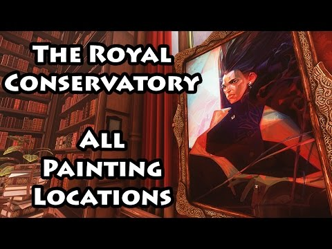 Dishonored 2 - The Royal Conservatory - Paintings