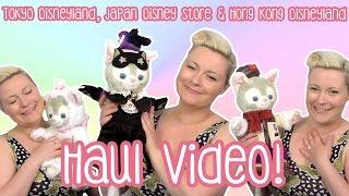 DISNEY HAUL! Tokyo Disneyland, Hong Kong Disneyland, Disney Store JP, Nakano Broadway Haul Video