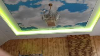 Светодиодная подсветка потолка(голубое небо., 2014-05-13T21:32:27.000Z)