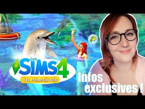 🌴 Infos exclusives sur Les Sims 4 Iles Paradisiaques !