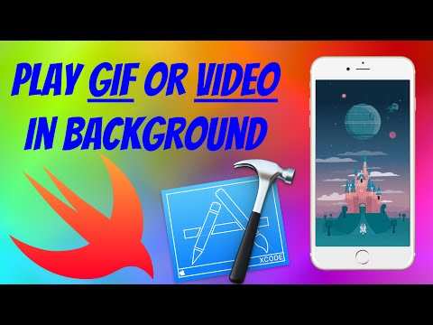 Playing Video or Gif on background (Swift on Xcode 7)