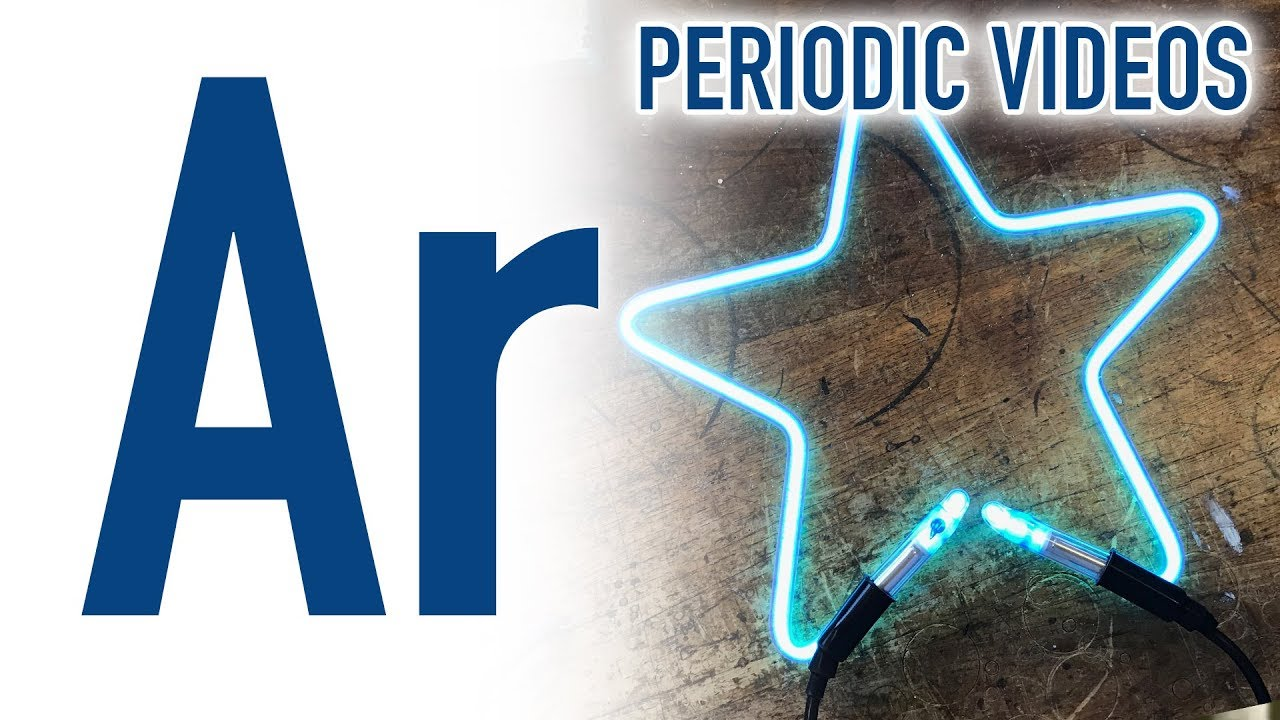 argon new periodic table of videos