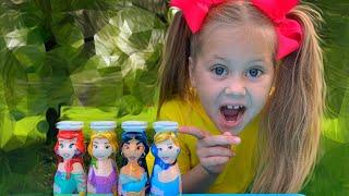 Eva wants to be a Disney Princess  | 동요와 아이 노래 | 어린이 교육