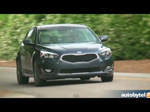 2014 Kia Cadenza Road Test & Luxury Car Video Review